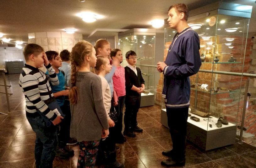 День Рождения в Музее Археологии Москвы «Подземные сокровища столицы»