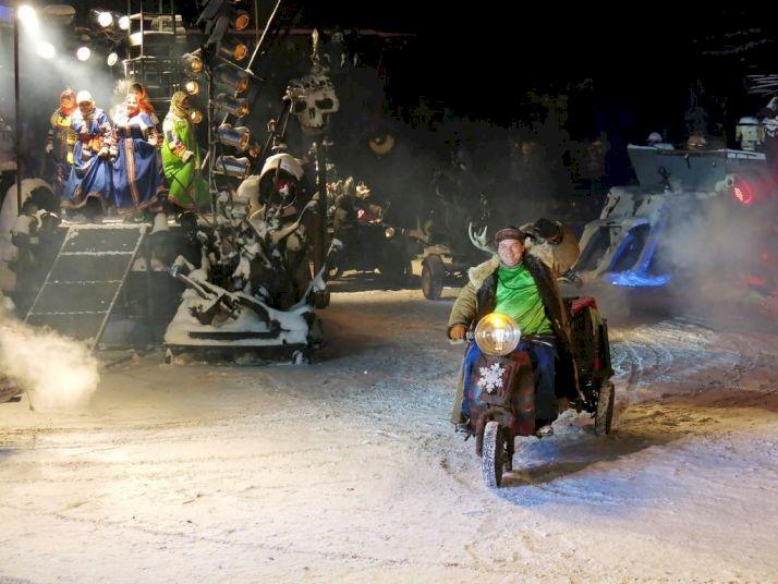 День Рождения в байкерском клубе «Море драйва и рев моторов»