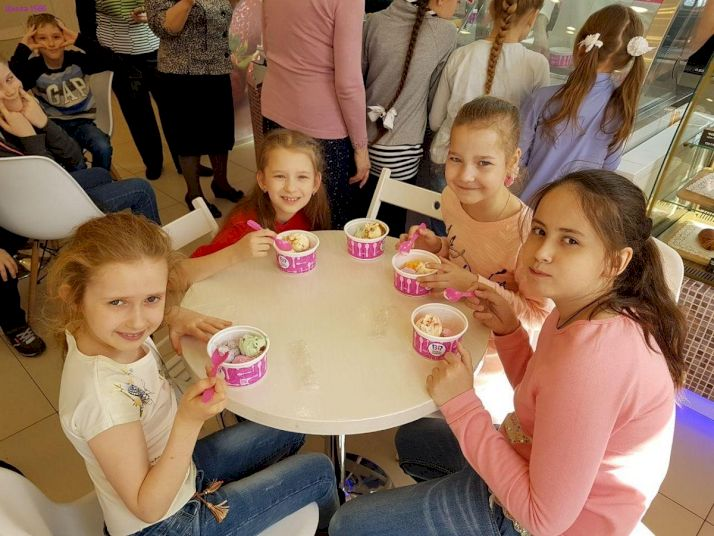 День Рождения на фабрике мороженого Баскин Роббинс «Пятьдесят оттенков вкуса»