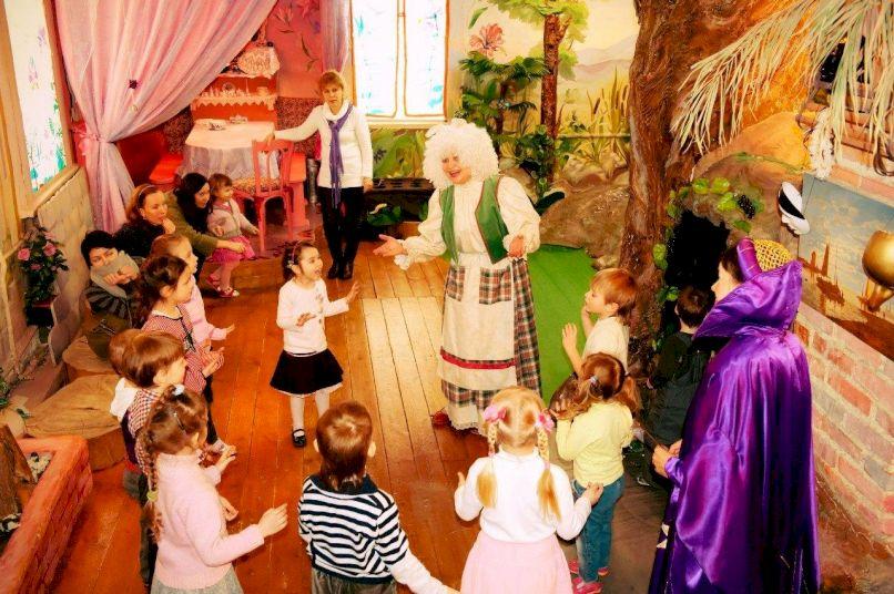 День Рождения в Доме Сказок «Жил-был в Тридевятом царстве именинник…»