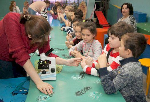 День Рождения с выездным научным шоу «Праздник с колбами и пробирками»