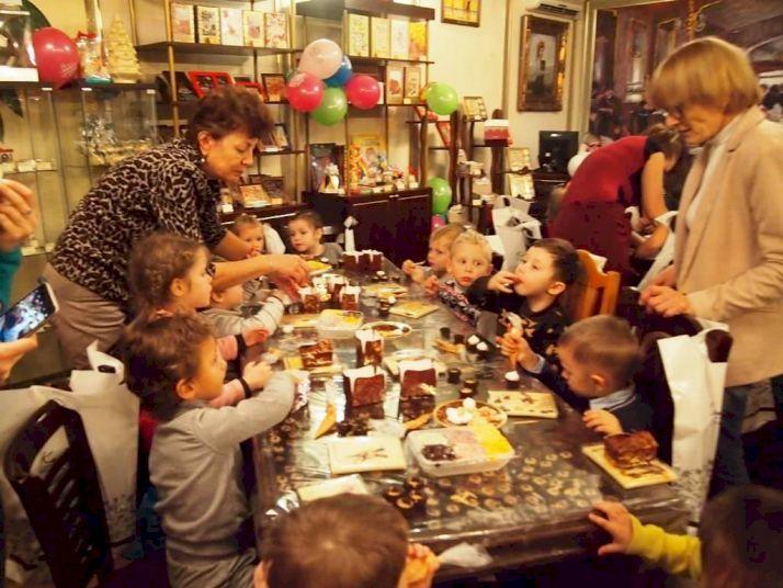 День рождения с выездным мастер-классом «Шоколадное счастье»