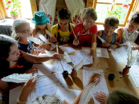 День Рождения в Контактной Деревне «Школа деревенской жизни»
