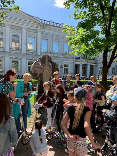 День Рождения с экскурсией на самокатах «На колесах по истории»