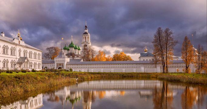 Экскурсионный тур на ретропоезде «Золотое кольцо России осенью» + Кострома