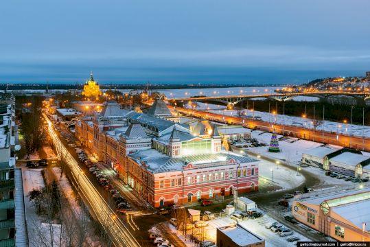Тур в Нижний Новгород «Нижегородское путешествие» 5дней/4ночи