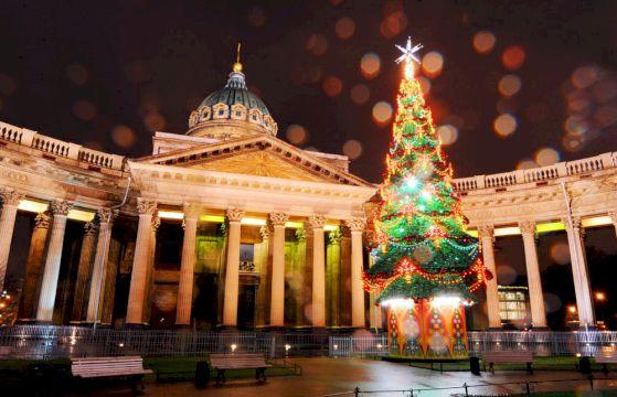 Тур в Санкт-Петербург на Новый год + 8 жемчужин Карелии 5дней/4ночи / Кэшбэк по карте МИР