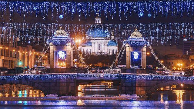 Блистательный новогодний тур в Санкт-Петербург - недорого 5дней/4ночи / Кэшбэк по карте МИР