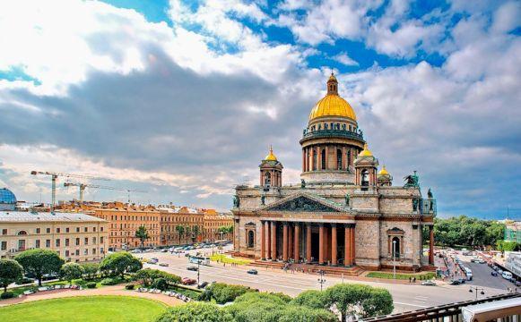 Тур в Санкт-Петербург «Город 812» / Из любого региона / Кешбэк 20%