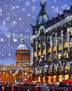 Семейный новогодний тур в Санкт-Петербург «Секрет счастливого Рождества»