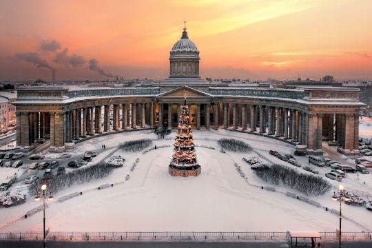 Экскурсионный тур «Новогодний Санкт-Петербург» 4 дня/3 ночи