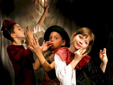 Занятие по актерскому мастерству для детей 10-14 лет