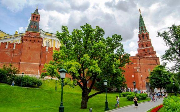 Красная площадь + ГУМ + Парк Зарядье: Жемчужины Москвы