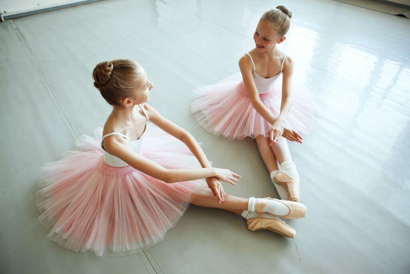 День Рождения с выездной программой «Школа юных балерин»