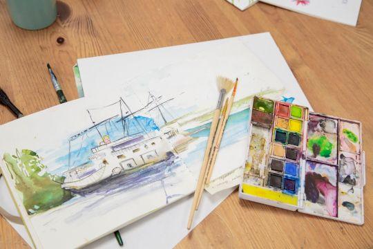 Скетч-тур: «В гости в мастерскую к художнику»