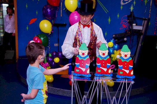День Рождения с выездной иллюзионной программой «Праздник магии и волшебства»