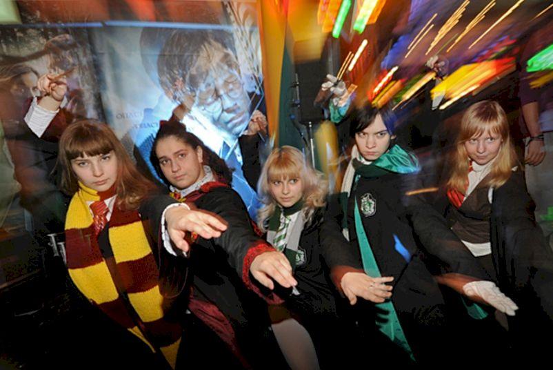 День Рождения с выездной программой «Вечеринка в стиле Гарри Поттера»