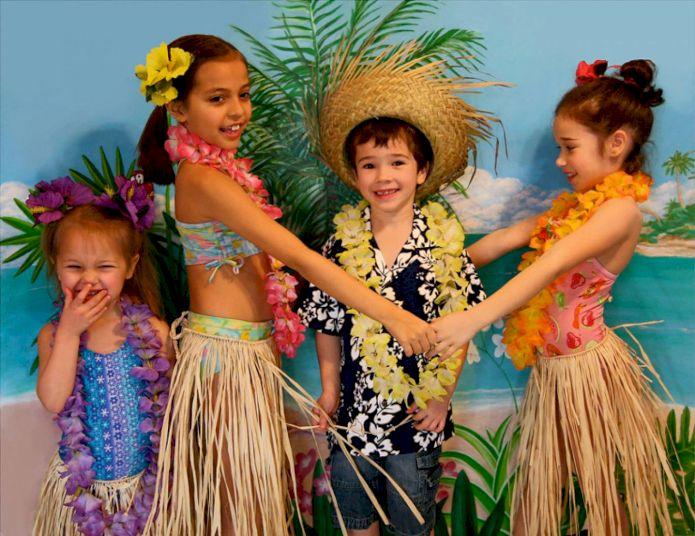 День Рождения на базе закрытого пляжного волейбольного клуба «Гавайская вечеринка»