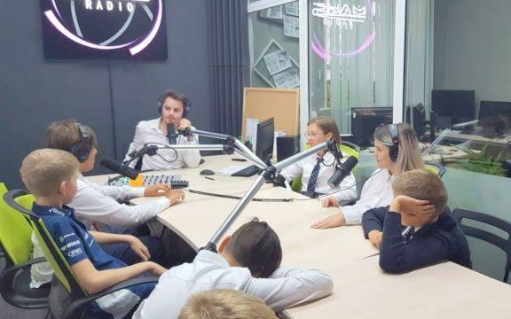 Экскурсия на радиостанцию
