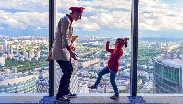 Смотровая площадка Panorama-360 с дегустацией мороженого и экскурсионным обслуживанием «Москва на вашей ладони»