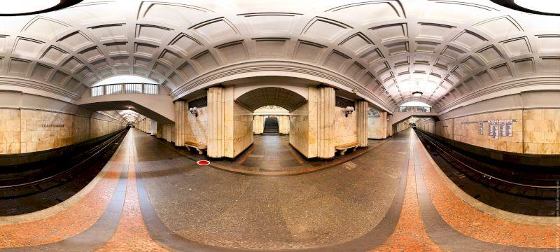 Экскурсия по метро Москвы
