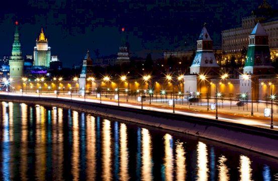 Феерия ночной Москвы