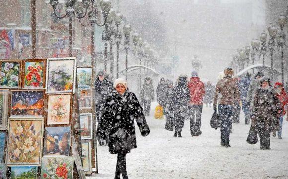 Новогодняя Москва ждет вас