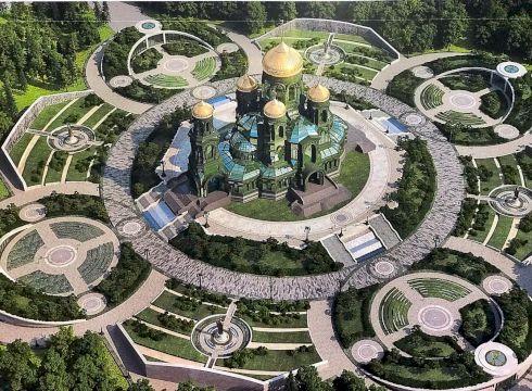 Главный Храм Вооруженных Сил в парке Патриот (Кубинка)