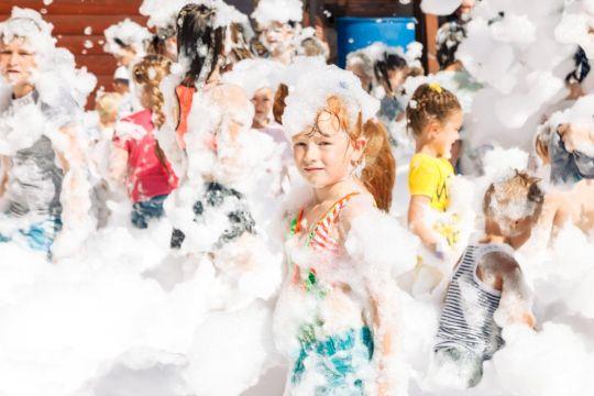 День Рождения с выездной программой «Пенная вечеринка»