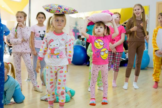 День Рождения с выездной программой «Пижамы не для сна!»