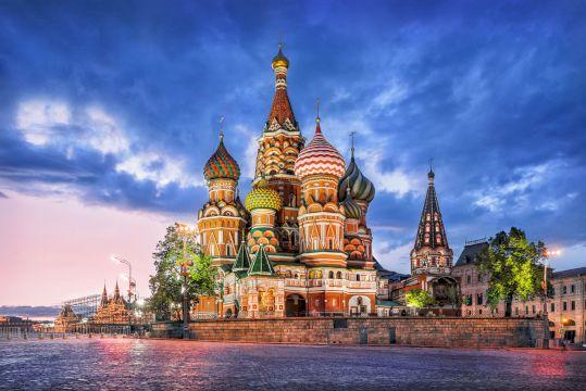 Красная площадь + парк Зарядье + Кремль
