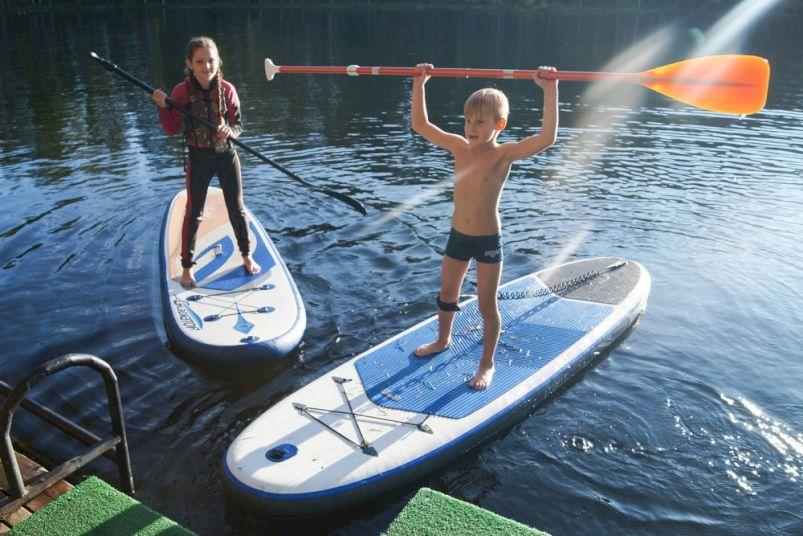 День Рождения с SUP-серфингом «Путешествие по водному миру»