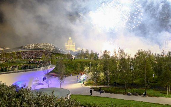 Парк Зарядье: Путешествие в пространстве и времени