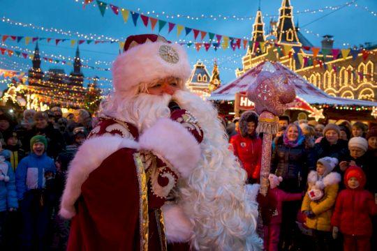 Новогоднее приключение с Дедом Морозом